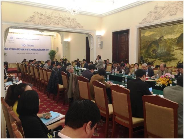 UBQG UNESCO Việt Nam tổng kết công tác 2016 và phương hướng 2017