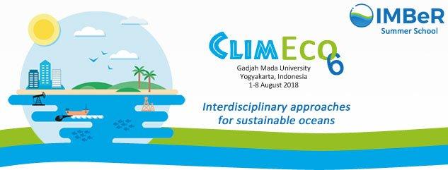 """01–08/8/2018 Khóa học hè IMBeRClimEco6 """"Các phương pháp nghiên cứu liên ngành vì sự phát triển bền vững của các đại dương"""""""