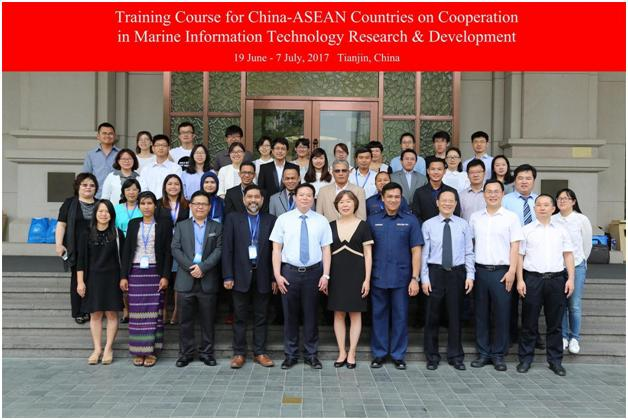 China- ASEAN Training Course on Marine Information Technology Research & Development