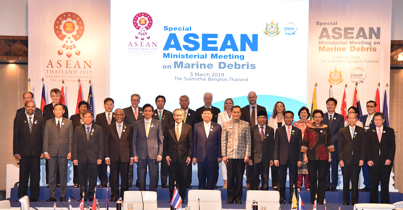 IOC and its WESTPAC voiced out their commitments to combatting marine debris at a ASEAN Ministerial Meeting
