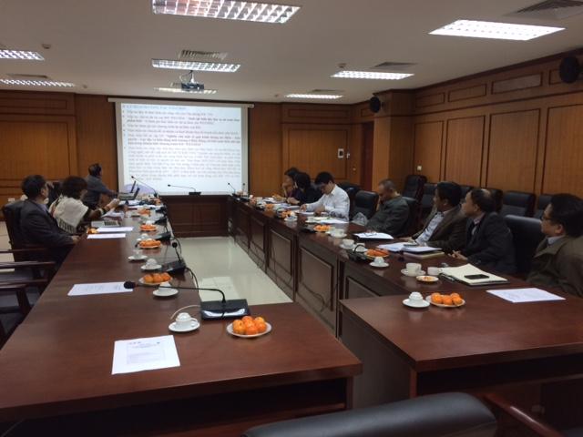 Hội nghị Tổng kết công tác của Ủy ban Hải dương học liên Chính phủ Việt Nam (IOCVN) năm 2017 và định hướng công tác năm 2018