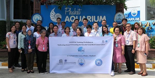 IOC/WESTPAC Hội thảo nhóm chuyên gia đặt nền móng cho việc phát triển các dịch vụ dự báo đại dương về hiện tượng tẩy trắng san hô, tại Phuket – Thái Lan