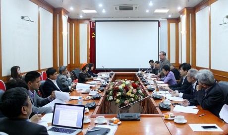 Hội nghị tổng kết công tác năm 2017 và phương hướng hoạt động năm 2018 Tiểu ban Khoa học Tự nhiên