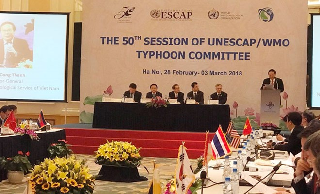 Hanoi hosts 50th session of Typhoon Committee