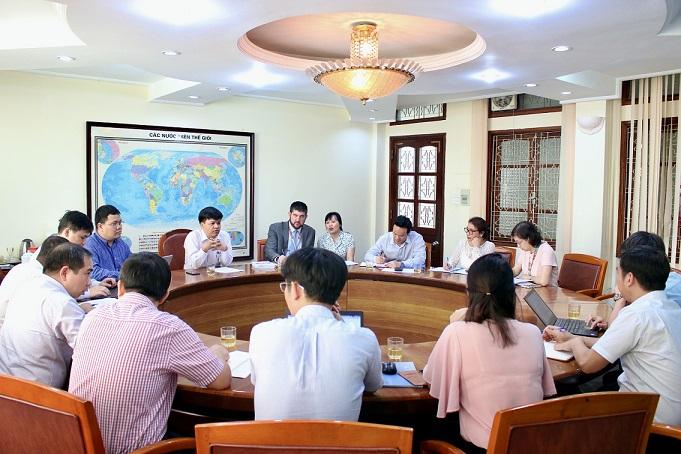 Thúc đẩy Chương trình hỗ trợ của UNESCO về Quy hoạch không gian biển và Quản trị đại dương tại Việt Nam