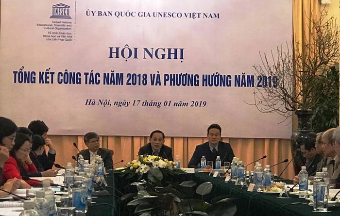 Tổng kết hoạt động của Ủy ban Quốc gia UNESCO tại Việt Nam năm 2018 và định hướng công tác năm 2019